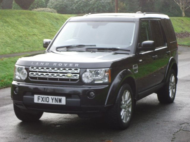 2010 10 LAND ROVER DISCOVERY 3.0 4 TDV6 HSE 5d 245 BHP BLACK EDITION