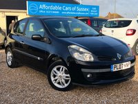 2007 RENAULT CLIO 1.6 EXPRESSION 3d AUTOMATIC £2995.00