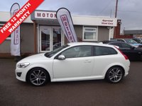 USED 2010 10 VOLVO C30 1.6 D DRIVE R-DESIGN 3DR DIESEL  FREE 12 MONTH WARRANTY UPGRADE