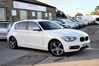 2012 BMW 1 SERIES 2.0 118D SPORT 5d AUTO 141 BHP £8695.00