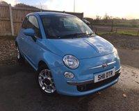 USED 2011 11 FIAT 500 0.9 SPORT 3d 85 BHP £20 PER YEAR ROAD TAX