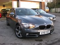 2011 BMW 1 SERIES 2.0 120D SPORT 5d AUTO 181 BHP