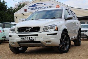 2012 VOLVO XC90 2.4 D5 R-DESIGN AWD 5d AUTO 200 BHP £15950.00