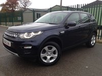 2015 LAND ROVER DISCOVERY SPORT 2.0 TD4 HSE 5d 150 BHP PAN ROOF SAT NAV LEATHER ONE OWNER £21490.00