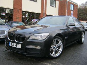 2011 BMW 7 SERIES 3.0 730D M SPORT 4d AUTO 242 BHP £SOLD
