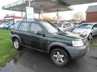 2001 LAND ROVER FREELANDER 2.0 TD4 GS STATION WAGON 5d 110 BHP £1295.00
