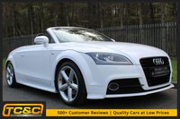 USED 2011 11 AUDI TT 1.8 TFSI S LINE 2d 160 BHP A LOVELY LOW MILEAGE EXAMPLE WITH SERVICE HISTORY!!!