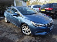 USED 2016 16 VAUXHALL ASTRA 1.4 DESIGN 5d 99 BHP Vauxhall Service History + Serviced by ourselves, Minimum 6 months MOT