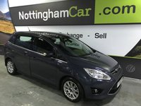 USED 2011 61 FORD GRAND C-MAX 1.6 TITANIUM TDCI 5d 114 BHP