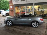 USED 2011 61 MERCEDES-BENZ SLK 1.8 SLK200 BLUEEFFICIENCY EDITION 125 2d 184 BHP STUNNING LOW MILEAGE SLK 200 AUTO