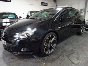 2015 VAUXHALL ASTRA 1.4 GTC LIMITED EDITION S/S 3d 138 BHP £8695.00