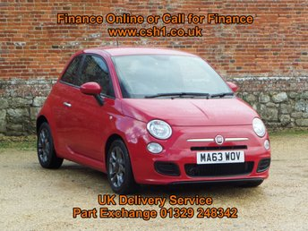 2014 FIAT 500 0.9 TWINAIR S DUALOGIC 3d AUTO 85 BHP £5885.00