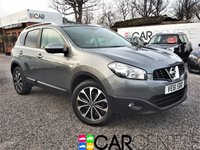 USED 2012 61 NISSAN QASHQAI 1.5 N-TEC PLUS DCI 5d 110 BHP FULL GLASS ROOF +NAV + REV CAM