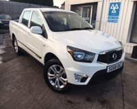 USED 2018 68 SSANGYONG MUSSO 2.2TD SE 176 BHP D/C PICK-UP