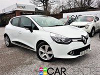 USED 2015 15 RENAULT CLIO 0.9 DYNAMIQUE MEDIANAV ENERGY TCE S/S 5d 90 BHP 1 OWNER FROM NEW + FSH
