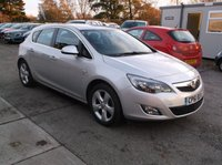 USED 2012 61 VAUXHALL ASTRA 1.4 SRI 5d 98 BHP ****Great Value economical family car with excellent service history, drives superbly****