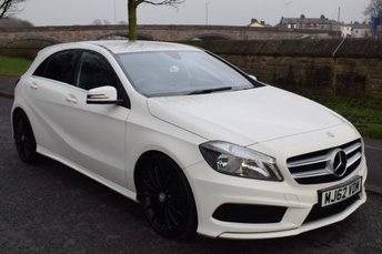 2013 MERCEDES-BENZ A-CLASS 1.5 A180 CDI BLUEEFFICIENCY AMG SPORT 5d 109 BHP £11999.00