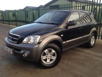 2007 KIA SORENTO 2.5 XE CRDI 5d AUTO 139 BHP ALLOYS PRIVACY TOW BAR A/C MOT 02/19 £2990.00