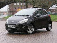 2013 FORD KA 1.2 ZETEC 3d 69 BHP £3970.00