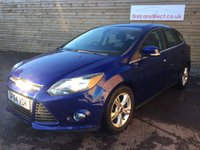 USED 2014 64 FORD FOCUS 1.6 ZETEC 5d AUTO 124 BHP