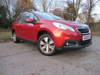 USED 2015 65 PEUGEOT 2008 1.2 PURE TECH ACTIVE 5d 82 BHP FULL TOUCH SCREEN MEDIA, BLUETOOTH