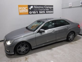 2010 MERCEDES-BENZ E CLASS 3.0 E350 CDI BLUEEFFICIENCY SPORT 4d AUTO 265 BHP £7490.00