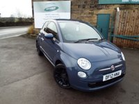 USED 2012 12 FIAT 500 0.9 TWINAIR PLUS 3d 85 BHP ONLY 15,000 Miles One Former Owner Full Service History