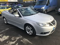 USED 2010 60 SAAB 9-3 1.9 LINEAR SE TID 2d 150 BHP IN SILVER WITH A BLACK ROOF AND ONLY 51000 MILES. APPROVED CARS ARE PLEASED TO OFFER THIS SAAB 9-3 1.9 LINEAR SE TID 2 CONVERTIBLE 150 BHP IN SILVER WITH A BLACK ROOF AND ONLY 51000 MILES IN IMMACULATE CONDITION INSIDE AND OUT WITH BLACK LEATHER INTERIOR,AIR CON,ALLOYS AND MUCH MORE WITH A FULL SERVICE HISTORY SERVICED AT 14K,21K,27K,33K,38K,44K AND 49K A TRULY GREAT LOOKING CAR.