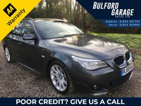 2009 BMW 5 SERIES 2.0 520D M SPORT BUSINESS EDITION TOURING 5d 175 BHP £9475.00