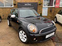 USED 2010 10 MINI HATCH ONE 1.6 ONE 3d 98 BHP LARGE CHOICES OF MINIS