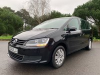 USED 2015 65 VOLKSWAGEN SHARAN 2.0 SE TDI 5d 142 BHP GREAT VALUE LATE PLATE 7 SEATER SHARAN WITH FSH