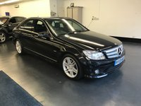 USED 2009 09 MERCEDES-BENZ C CLASS 1.6 C180 KOMPRESSOR BLUEEFFICIENCY SE 4d AUTO 156 BHP GREAT SERVICE HISTORY, BLUETOOTH PHONE, HALF LEATHER SEATS.