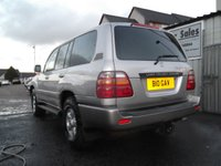 USED 2001 TOYOTA LAND CRUISER 4.2 GX TD 5d 201 BHP MANUAL,JUST HAD £5,500 MAINTENANCE SERVICE!