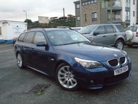 2009 BMW 5 SERIES 2.0 520D M SPORT BUSINESS EDITION TOURING 5d AUTO 175 BHP £8495.00