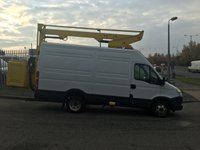 USED 2013 13 IVECO DAILY 3.0 50C15V 1d 146 BHP CHERRY PICKER