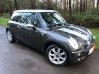 USED 2005 55 MINI HATCH COOPER 1.6 COOPER PARK LANE 3d 114 BHP ROYAL GREY METALLIC - BLACK ENGLISH LEATHER - AUTO AIR CONDITIONING - 16' ALLOY WHEELS - CHROME MIRROR CAPS & MORE