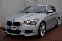 2012 BMW 1 SERIES 2.0 118D M SPORT 5d 141 BHP £9995.00