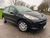 2010 PEUGEOT 207 1.4 S 8V 5d 73 BHP WITH FULL SERVICE HISTORY £1850.00