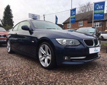 2011 BMW 3 SERIES 2.0 320I SE 2d 168 BHP £9695.00