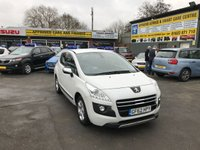 2012 PEUGEOT 3008 2.0 HYBRID4 SR 5 DOOR AUTOMATIC 200 BHP IN MET WHITE,IMMACULATE CONDITION WITH 85000 MILES £7299.00