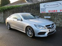 USED 2013 63 MERCEDES-BENZ E CLASS 2.1 E220 CDI AMG SPORT 2d AUTO 170 BHP FULL MERCEDES SERVICE HISTORY+AMG BODY STYLING