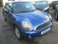 2008 MINI HATCH ONE 1.4 ONE 3d 94 BHP £3495.00