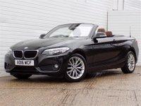 2016 BMW 2 SERIES 1.5 218I SE 2d 134 BHP £14989.00