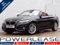 USED 2016 16 BMW 2 SERIES 1.5 218I SE 2d 134 BHP HARMAN KARDON SAT NAV LEATHER