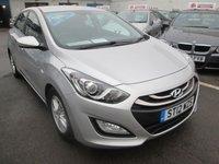 2012 HYUNDAI I30 1.6 AUTOMATIC ACTIVE 5d 118 BHP £6795.00