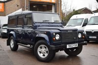 2004 LAND ROVER DEFENDER 2.5 110 TD5 COUNTY STATION WAGON 5d 120 BHP £17999.00