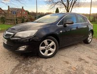 2011 VAUXHALL ASTRA 1.6 SRI 5d + 2 FORMER KEEPERS + HISTORY + 2KEYS £3350.00