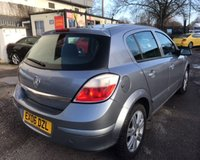 USED 2006 06 VAUXHALL ASTRA 1.4 ACTIVE 16V TWINPORT 5d 90 BHP