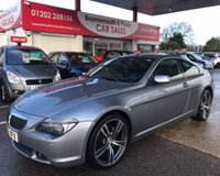 2005 BMW 6 SERIES 3.0 630I COUPE AUTO 2d 255 BHP £4995.00