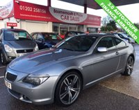 USED 2005 55 BMW 6 SERIES 3.0 630I COUPE AUTO 2d 255 BHP